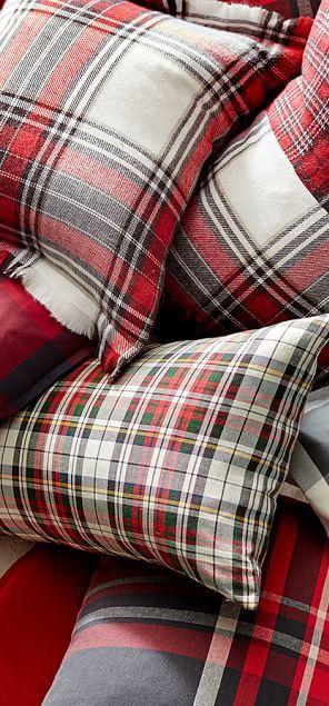 Landon Plaid Pillows