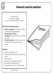 Persuasive Writing Prompts x 5