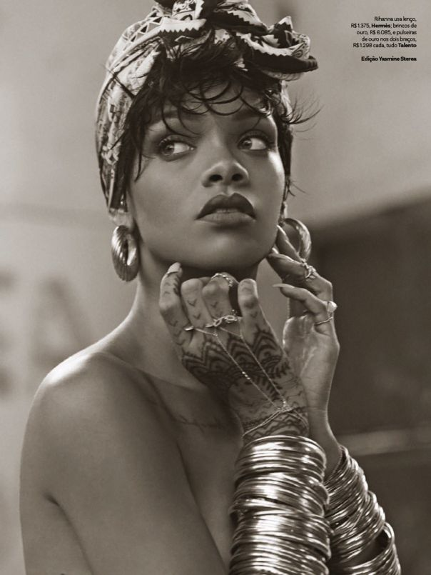 nice Vogue Brasil Maio 2014 | Rihanna por Mariano Vivanco  [Editorial]