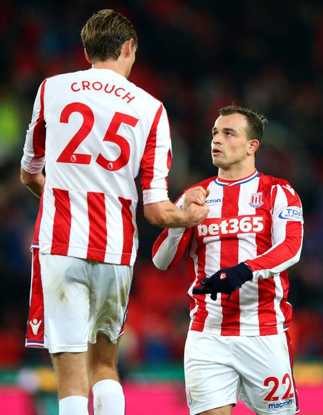 Peter Crouch Photos Photos Stoke City V Swansea City Premier League Peter Crouch Stoke City Football