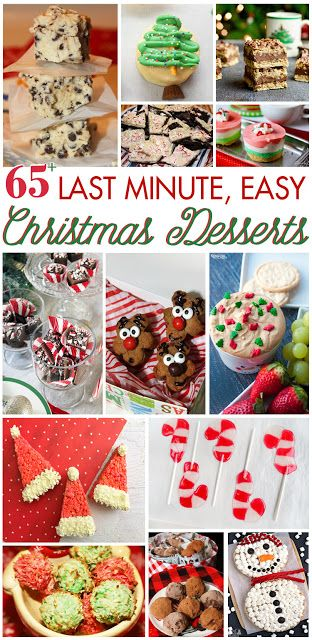 65+ Last Minute, Easy Christmas Desserts A Dash of Sweet Recipes