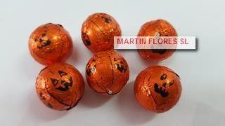 chocolates calabaza Tienda ONLINE www.martinfloressl.es #sevilla #halloween Disfraces, complementos, maquillaje, latex, globos,golosinas, chuces terror