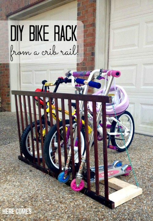 20 Delightfully Creative and Functional Ways to Repurpose Old Cribs - DIY…