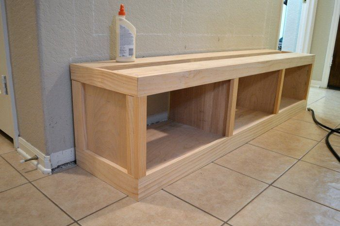 Diy Entryway Mudroom Diy Bench Diy Furniture Cubby Storage