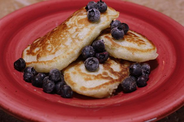Ukrainian Buttermilk Pancakes (Blinchiki)