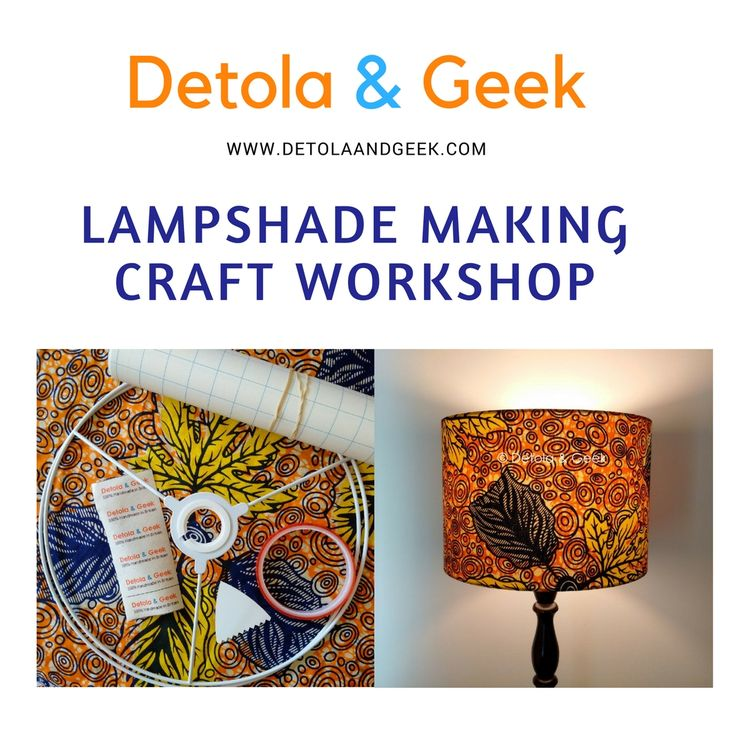 Want to learn a nnew craft skill? Try your hand on making a bespoke lampshade for your home or as a gift for a loved one. For more info: http://www.detolaandgeek.com/workshops #Lampshades #crafts #crafting #craftkit #learning #learnanewskill #lampshademaking #workshop ##lampshadeworkshop #craftworkshop #letchworth #hitchin #stotfold #hertfordshire #bedfordshire #cambridge #cambridgeshire #thingstodinherts #netmums #drumlampshade #lighting #homedecor #interiordesign #detolaandgeek