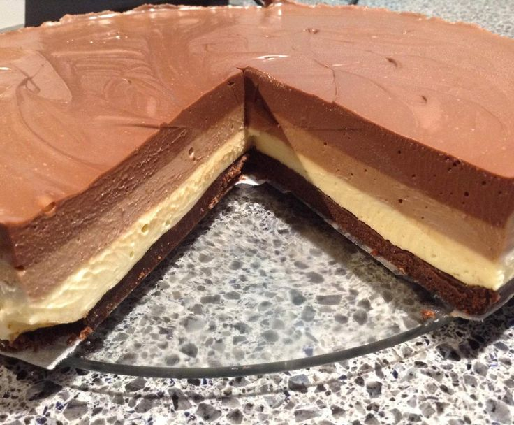 Recipe Triple Chocolate Layer Cheesecake by karyn amos - Recipe of category Desserts & sweets