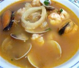 Sopa chalaca