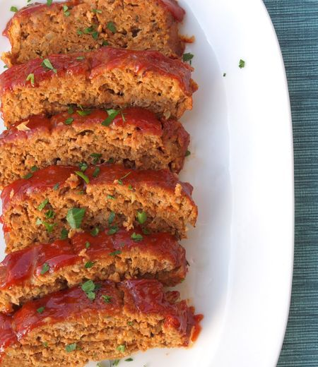 bbq turkey meatloaf | quick and easy family meals | Pinterest