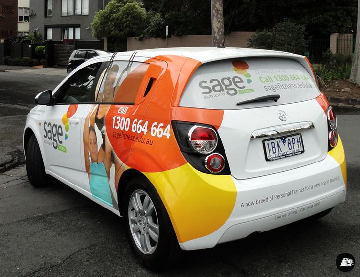 Sage Fitness, Vehicle Graphics,