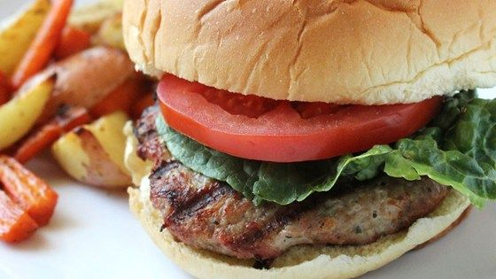 Turkey burgers are a delicious change of pace. Slap these moist patties on the grill for a special summer treat!