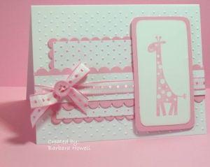 baby card by lorene
