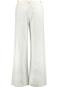 Etro Cotton-blend twill wide-leg pants | THE OUTNET