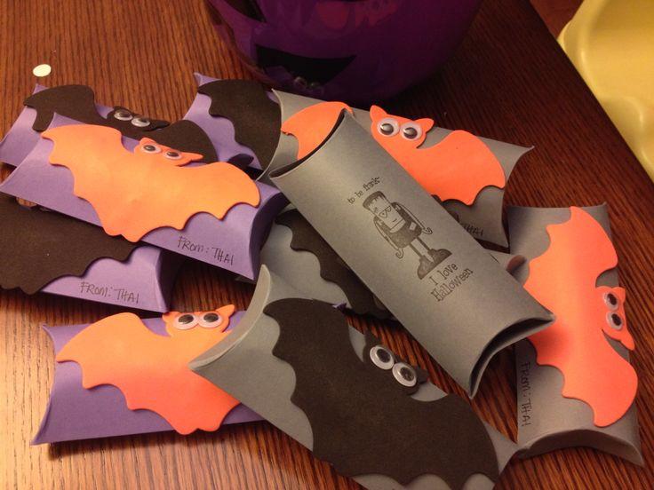 Thai's Halloween favours for school - handmadewithlove