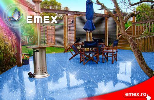 Epoxy floor decking
