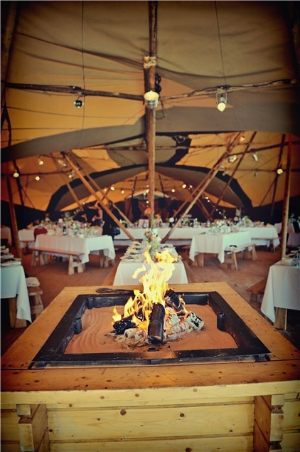 Bamse fire, a must have for any tipi party.  #Tipi #TipiWedding #TipiParty