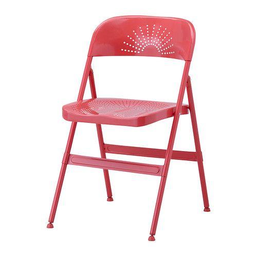 IKEA - FRODE, Klappstuhl, Zusammenklappbar und daher nach Gebrauch leicht zu verstauen.Bequem durch die weiche Rundung von Sitz und Rückenlehne.