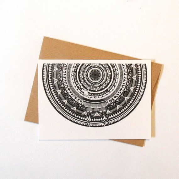 Black and White with a POP of color.  by Mandy C. on Etsy
