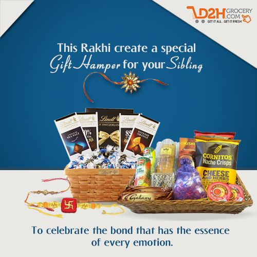 Wish your loving sibling Happy Raksha Bandhan with a unique & interesting hamper. Celebrate this special bond of love. #HappyRakhi #Brother #Sister #Love