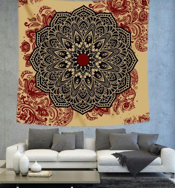 Mandala Tapestry Bohemian tapestry by Christinedecorshop on Etsy