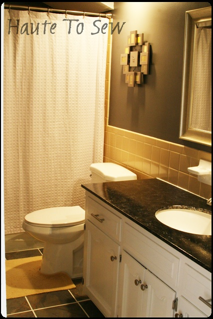 Yellow Tile Bathroom Decorating Ideas 12 best 40s bathroom remodel images on pinterest
