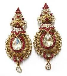 Buy Rani Kalash Earing danglers-drop online
