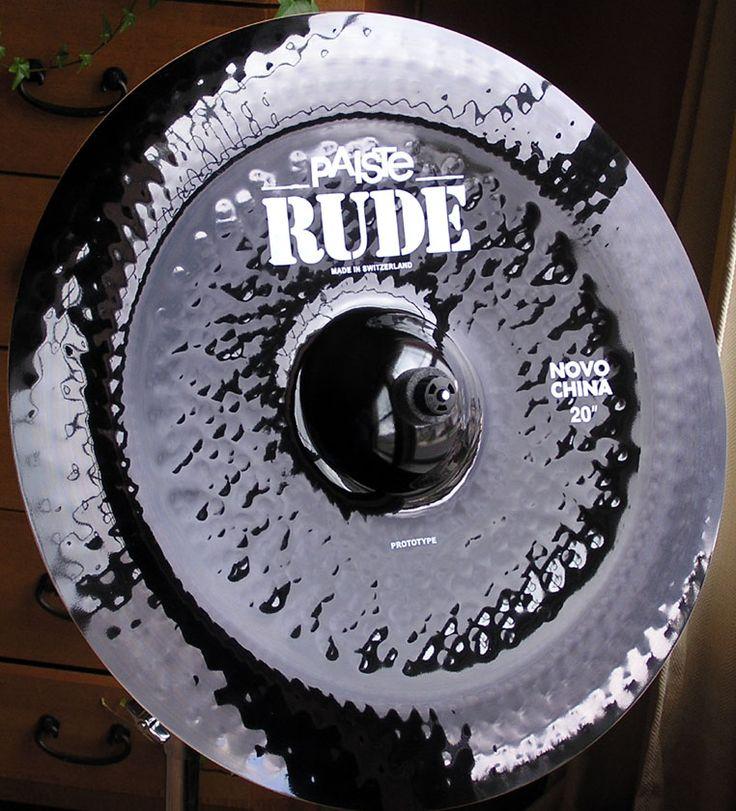 Paiste Novo 2002 Chinese cymbal
