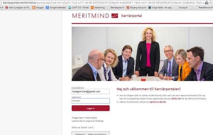 Lyckades inte logga in på #Meritmind, nås via http://www.meritmind.se/rekryteras-till-v%C3%A5ra-kunder