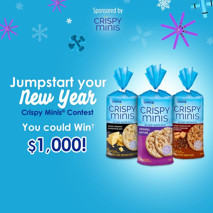 Jumpstart Your New Year Crispy Minis® Contest
