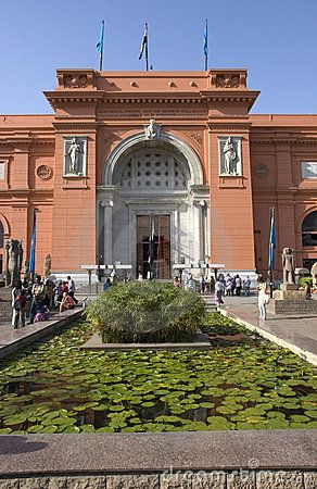Cairo Museum of Egyptian Antiquities. Cairo, EGYPT. I have so many photos of this place! <3