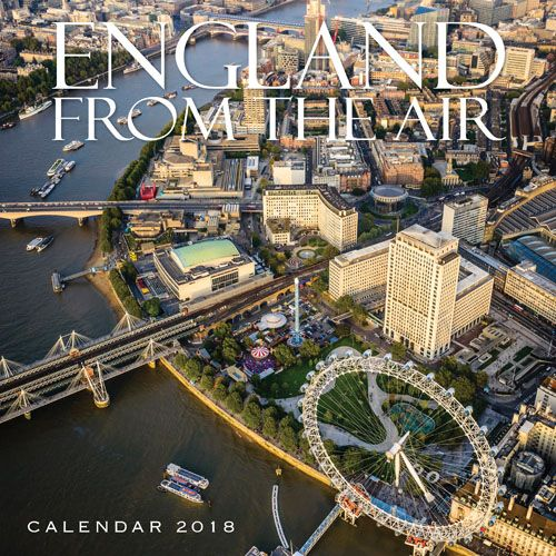 England From The Air Calendar 2018