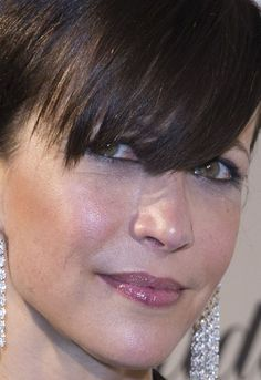 Close-up of Sophie Marceau at the 2015 Chopard Trophy Party in Cannes. http://beautyeditor.ca/2015/05/26/cannes-2015