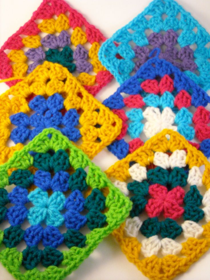 things to make and do: granny squares