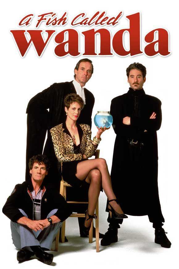 A Fish Called Wanda 27x40 Movie Poster (1988)