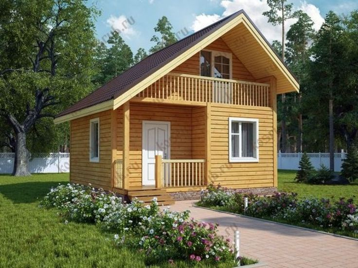 house made of timber