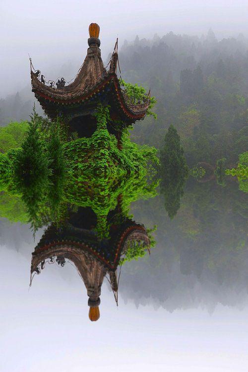 Ivy Temple, Xian, China