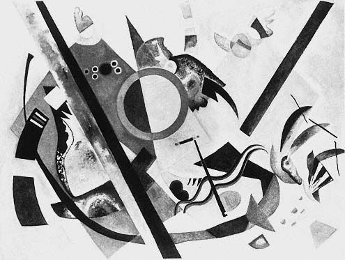 kandinsky paintings in black and white - Google Search