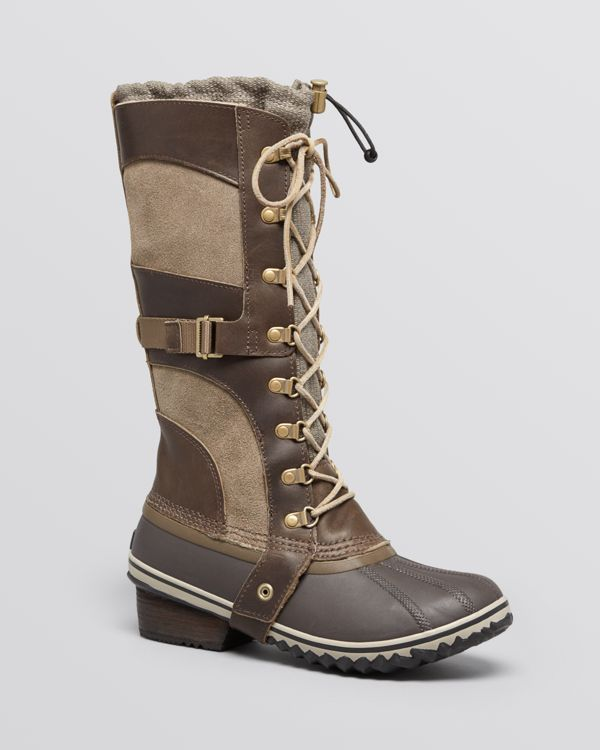 Sorel Lace Up Cold Weather Boots - Conquest Carly