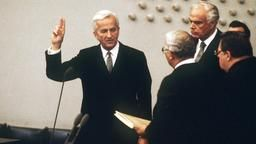 1984 - Weizsäcker becomes President of Germany