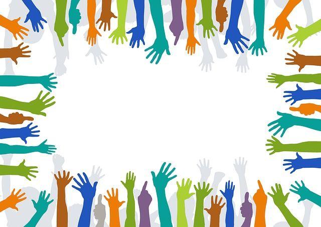 Wolontariusze, Ręce, Dobrowolne, Folia, Ochrony