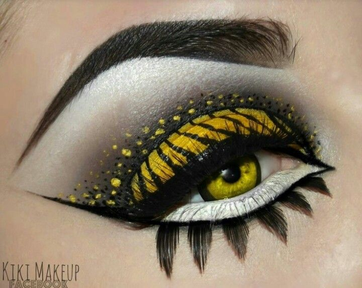 17 best Creative Eye Shadows and Make-ups images on Pinterest ...