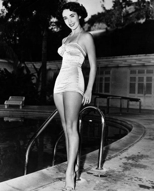 Liz Taylor in 1950