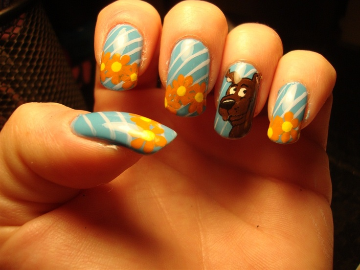 51 best scooby doo nail art images on pinterest scooby doo nail art gallery scooby doo prinsesfo Image collections