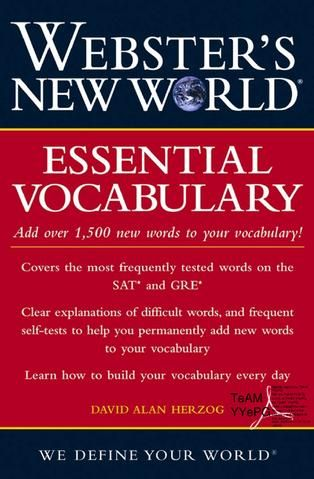 33 best books pdf images on pinterest books english grammar webster essential vocabulary fandeluxe Gallery