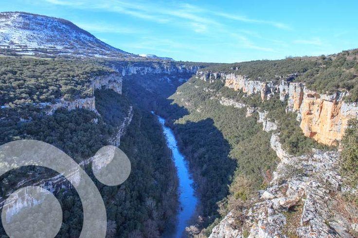 River Ebro canyon