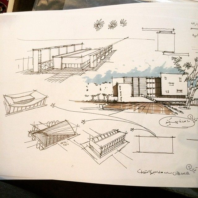 my sketch for architects