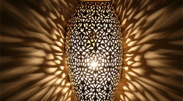 Une lampe marocaine va illuminer vos intérieurs et les emplir d'une magie orientaleArchzine- e-zine d`architecture, design d 'intérieur