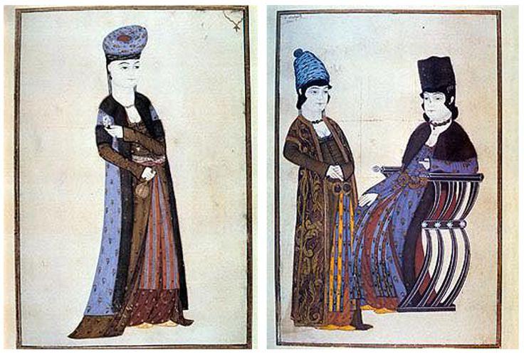 #OsmanlıdaKadın #İkiKadın #AbdullahBuhârî Geleneksel minyatür (tasvir) üslûbundan Batı resmine geçiş döneminde yetişen son tasvir sanatçıları arasında en tanınmış olanıdır.İstanbul Üniversitesi Kütüphanesi'nde bir albüm şeklinde (TY. nr. 9364). Topkapı Sarayı Müzesi Kütüphanesi'nde de bir albümün içinde (Hazine, nr. 2143) ve ayrıca parçalar halinde (YY, nr. 1042, 1043, i 086) bulunan eserleri, devrinin kadın ve erkek tiplerini, kıyafetlerini aksettirmektedir.
