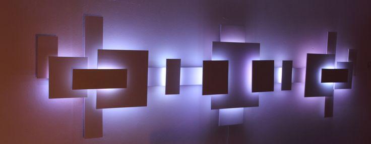Led Lights On Wall: ,Lighting