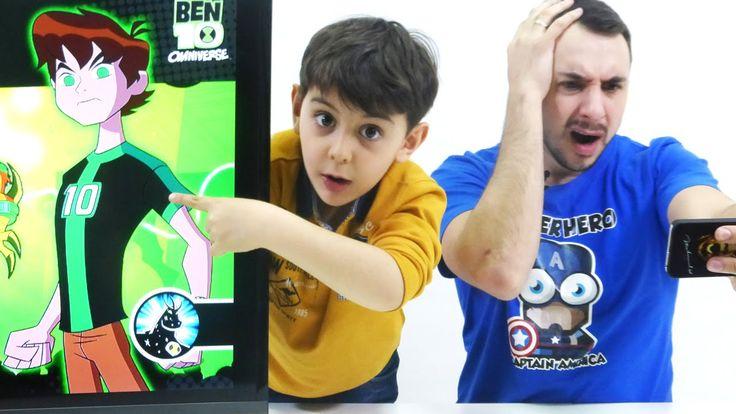 Видео для детей: Папа Роб и Ярик. Игры онлайн - Опасный забег. БЕН 10 (b...